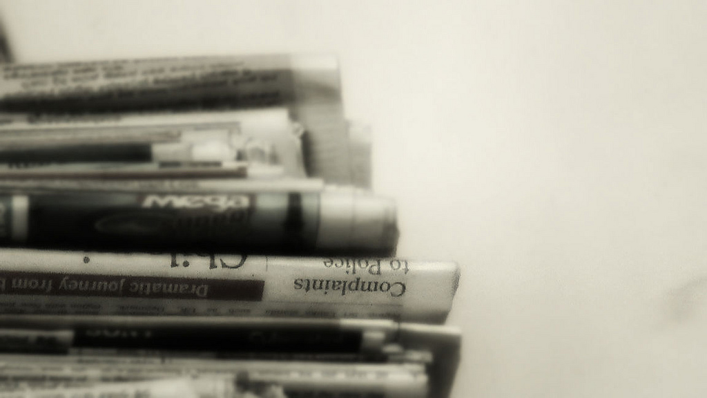 newspapers cc by binuri on flickr
